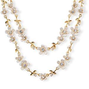 Super rare! Kate Spade Pretty Petals necklace